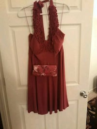 HalterSpecial Occasion Dress and matching purse Upper Marlboro, 20772