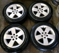 Ford fusion rims and tires all season  Toronto, M6L 1A4