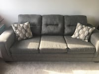Grey Couch, only a year old Cambridge, N1T 0B6