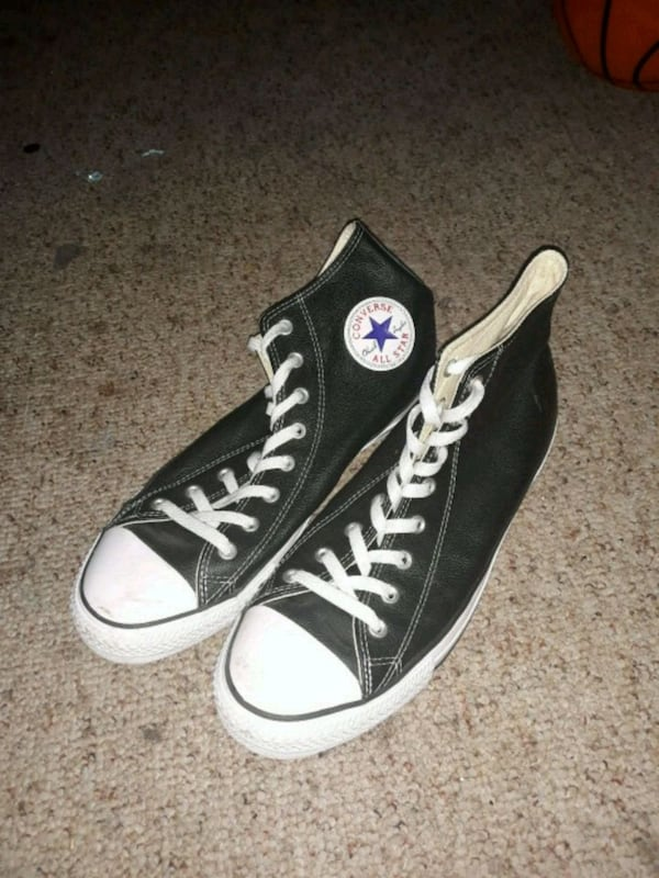 Mens 12 Leather Converse 92c3a53b-d463-448e-a86b-eac18a9ee3f5