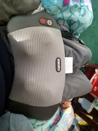Homedics heated massage pillow