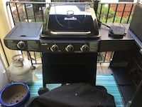 Char-Broil gas grill, tank, and cover. Vienna, 22182