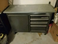 Craftsman metal cabinet with metal top workspace  West Covina, 91791