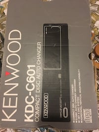 Kenwood kdc-c601 compact disc auto changer box