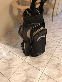 Callaway golf bag $65, nike gap wegde $50 , ben hogan 2 iron $30, top flite resuce club $45 Vaughan, L4L 4S5