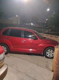 2005 Chrysler PT Cruiser red