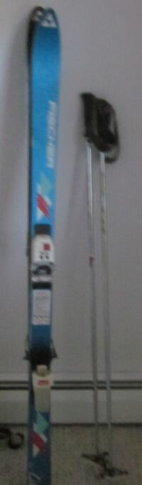 skis and poles, and boots Danbury