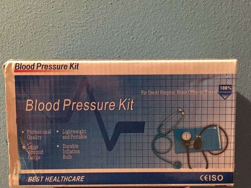 Blood Pressure Kit with Manual-BRAND NEW 888ada5e-b706-4040-821d-5ad38e20d926