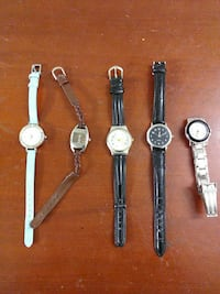 five silver-colored analog watches Toronto, M6P 3L4