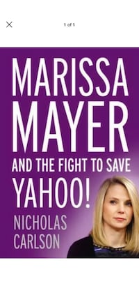 Marissa Mayer and the Fight to Save Yahoo! Fairfax, 22033