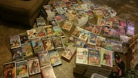 134 kid vhs tapes