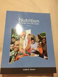 Nutrition through the Life Cycle (5th edition) by Brown Toronto, M6A 1W9