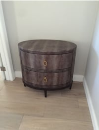 brown wooden 2-drawer nightstand Agoura Hills, 91301