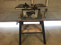 10 inch table saw with rip fence and cross cut fence La Quinta, 92253