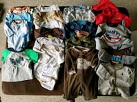 Baby clothes EUC 0-3 months Mississauga, L5V 2H5