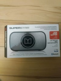 gray and black monster superstar portable speaker Ottawa, K2C 0J8