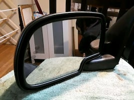 Fits 2003 Cadillac Escalade Drivers side mirror