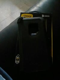 black and red Otterbox smartphone case Yuma