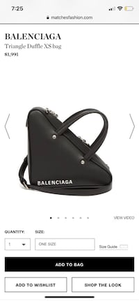 Balenciaga triangle bag Toronto, M1H