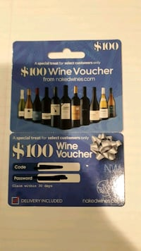 $100 Voucher - Naked Wines