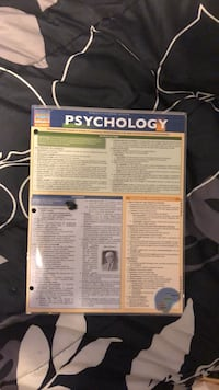 psychology quick study Fairfax, 22032