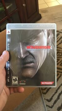 Metal gear solid 4 sony ps3 game Sacramento, 95828