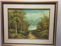 Framed painting- oil on canvas Toronto, M1T 3M7
