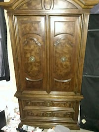 brown wooden cabinet with drawer Beltsville, 20705