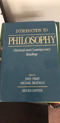 Philosophy 101 book Classic and Contemporary Readings Auburn, 98001