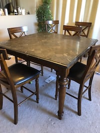 Granite table and 6 chairs   Scottsdale, 85259
