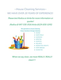 House cleaning Naperville, 60563