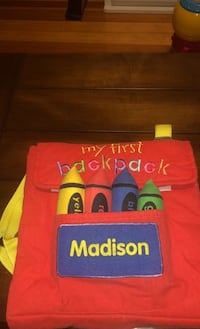 My First Backpack activity pack