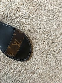 black Louis Vuitton leather belt Frederick, 21702