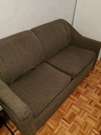 Couch with bed