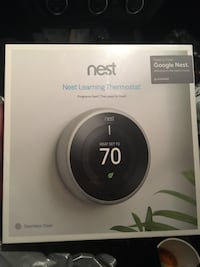 Google nest 3rd Generation stainless steel