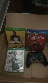 Xbox one & PS4 game(s) & Controller