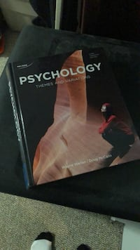 First year Psych Textbook - free pickup. If the ad is up, it's available.  Ottawa, K1S 0X1