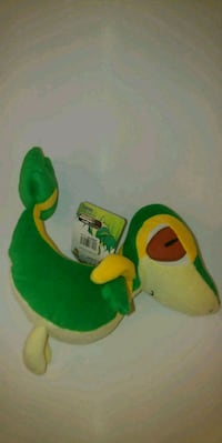 green and yellow frog plush toy Washington, 20019
