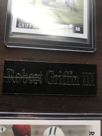 Rg3's rookie year and rookie of the year plat Frederick, 21703