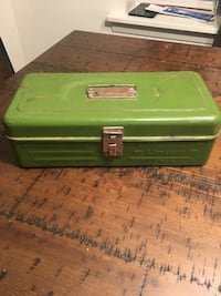 2 vintage tool, tackle, storage boxes Forest Hill, 21050