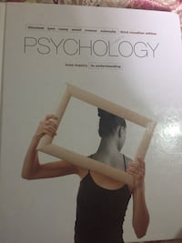 Psychology 104/105 textbook & criminology in Canada 6th edition Edmonton, T6T 1Z5