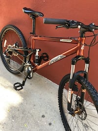 Bike K2 Sidewinder DS full Suspension size M Ontario, 91761