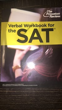 Princeton Review SAT Verbal Workbook San Francisco, 94112
