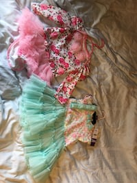 24 month girl tutu dresses new one with head band. Never worn. Hagerstown, 21740