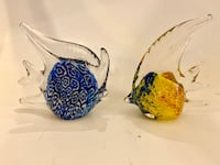 Tropical Angel Fish Paperweights Pair (price is for both)