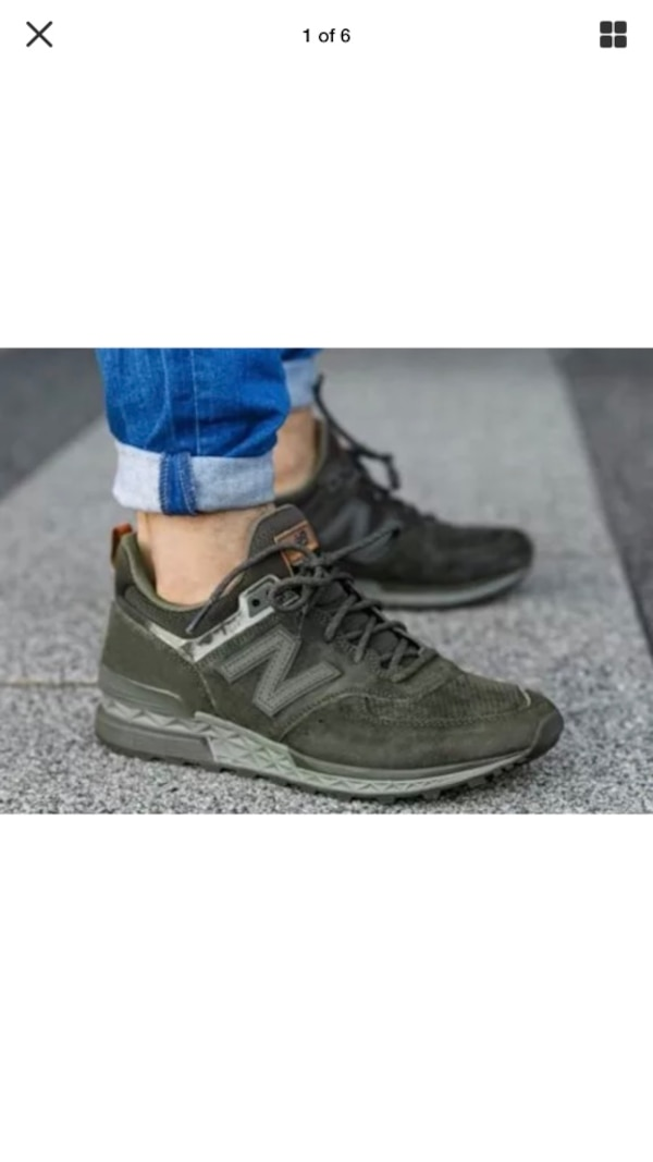 5535fea7831253 Used New balance 574 suede olive size 9 for sale in Snellville - letgo