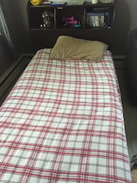 Twin captain bed with mattress and dresser London, N6H 1S6