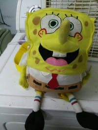 spongebob backpack  Missouri City, 77489