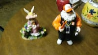 rabbit and Santa Claus ceramic table decors Martinsburg, 25401