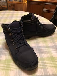 Timberland Boots Navy Blue Size 11.5 Sharon Hill, 19079